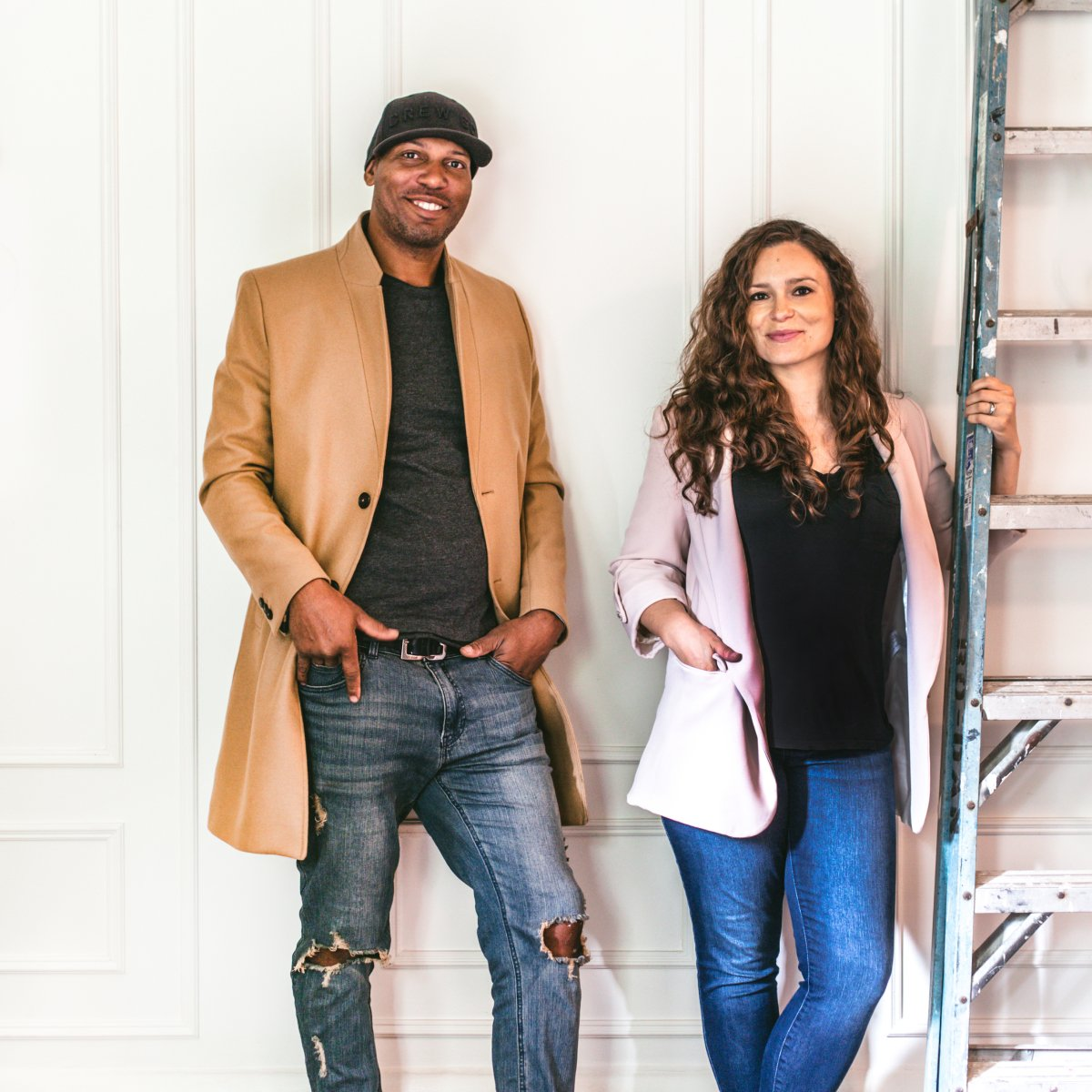 Mix Design Collective co-founders Bryan Williamson and Catherine Williamson